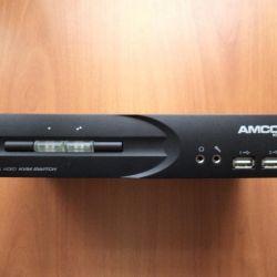 Comutatorul Amconn KVM712DV KVM pe două SB
