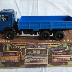 Model scale 1/43 Kamaz-5320 in the box of the USSR
