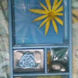 Disc aromatherapy set