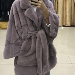 Mink coat New. Beijing.