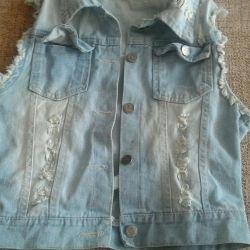 Vest / Waistcoat / sleeveless shirt 42-44-46 used
