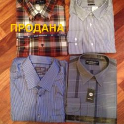 Men's Gap, Marks and Spencer New Shirts