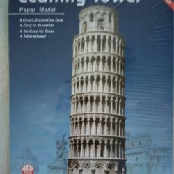 Leaning Tower 3D model (3D puzzle)