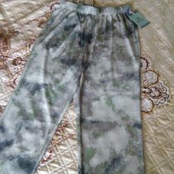 new camouflage pants (summer)