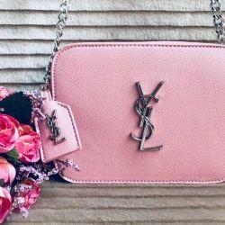 Νέα τσάντα ροζ σκόνης YSL