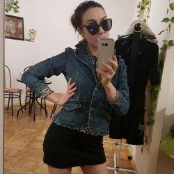 Jacket denim 40-42 rr of very good jeans