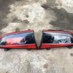 Lights in the trunk lid on the Mazda 6 GJ