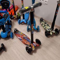 Нові самокати скутер максі до 60 кг