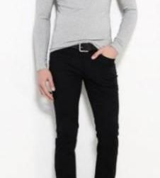 Unistyle men's double neck sweater