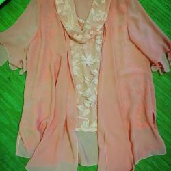 Blouse (52-54) peach
