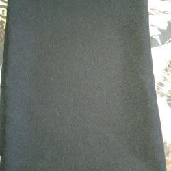 Siyah kumaş
