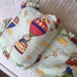 Бортики на ліжечко