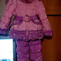 Kış kıyafeti.