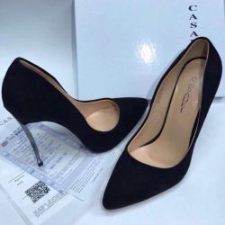 Черныеnew black shoes solution 35-39