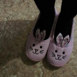 New Slippers-Bunny