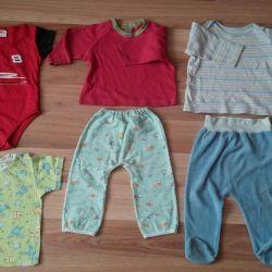 Body, blouses, panties, t-shirt