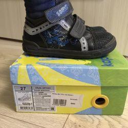 Demi-sezonlu ayakkabılar Kapika, 27