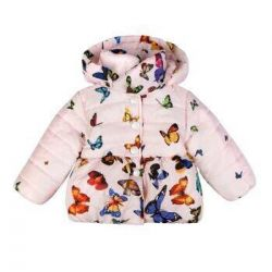 New children's jacket for a girl