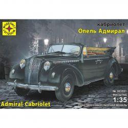 Model Cabriolet Opel