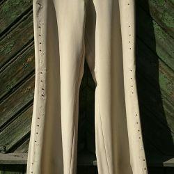 Nakışlı kadınlar için pantolonlar
