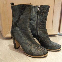 Ημι-δεμι / μπότες από βαμβάκι