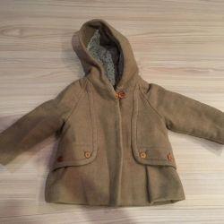 Zara baby coat for 1-1.5 years (86cm) for girls