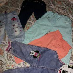 Kızlar için pantolonlar