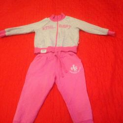 Sports suit for girls.