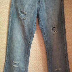 Men's Jeans 100% Cotton Size 31 L 34