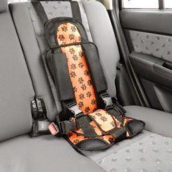 Car seat frameless