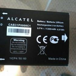 ALCATEL TLi014A1 için pil
