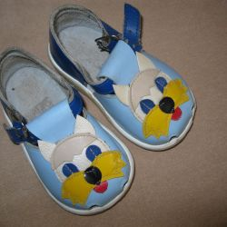 Sandalet - deri. Boyut 12