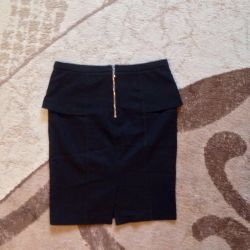 Skirt with Basque Lime size s