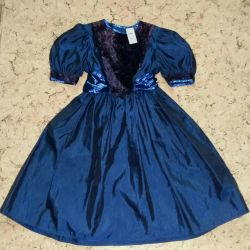 Dress festive for girls on р116 the Witch
