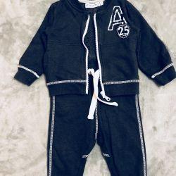 Спортивный костюм Minymo для мальчика 9 месяцев