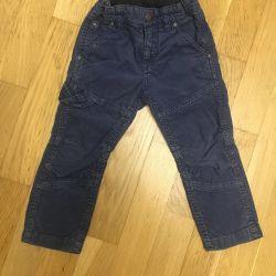 H & M Kadife Pantolon