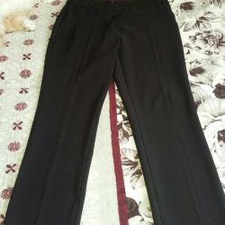 Παντελόνια για γυναίκες κλασικά r. 46-48