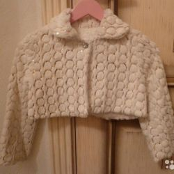 Fur Cape for a girl