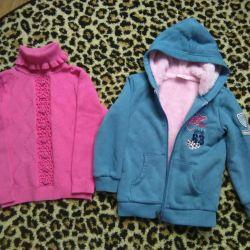 Svitr and sweatshirt 98- 104