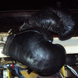 Boxing gloves of the USSR 60-70