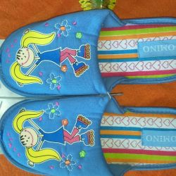 Slippers new 30-31 size