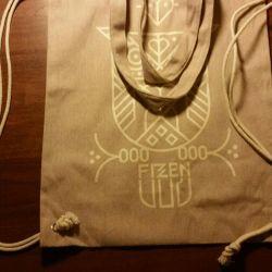 denim backpack new