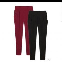 New light black pants