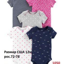 Κορίτσι 6-12 μήνες φόρεμα κορμάκι που ο νέος Carters