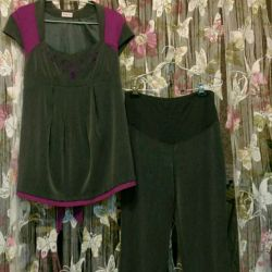 Branded clothes for pregnant 42-48 for hire