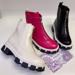 Winter boots Genuine leather