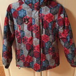 Горнолыжная куртка р.152-158