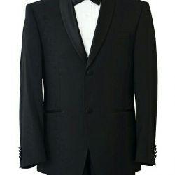 Tuxedo de sex masculin negru