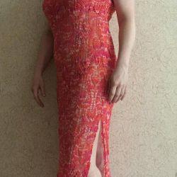Χειροποίητο δαντελωτό φόρεμα