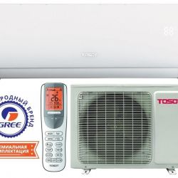 Tosot 7 air conditioner with installation on the day of delivery